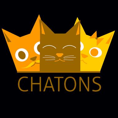Logo des CHATONS (Collectif des Hébergeurs Alternatifs, Transparents, Ouverts, Neutres et Solidaires)